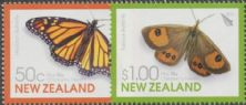 NZ SG3220-1 Children's Health 2010, Butterflies set of 2
